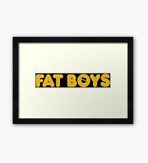 Fat Boys Framed Print
