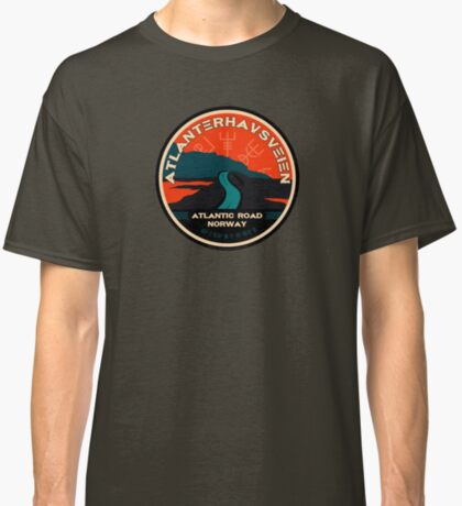 Atlanterhavsveien 1 - Atlantic Ocean Road Norway Classic T-Shirt