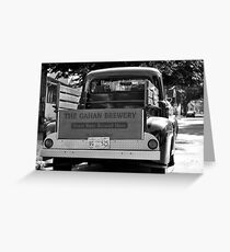 THE GAHAN BREWERY '52 FORD Greeting Card