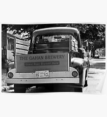 THE GAHAN BREWERY '52 FORD Poster