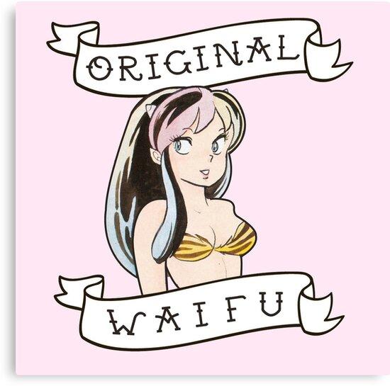 """Lum- Urusei Yatsura ""Original Waifu"""" Canvas Print By"