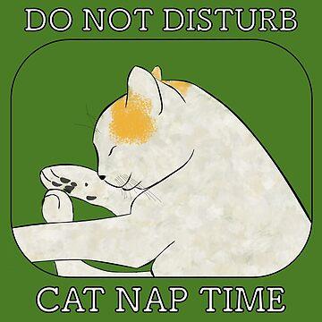 CAT NAP TIME - original design by chruezness