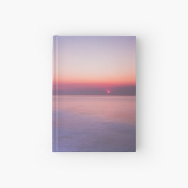 Sunset on the Portuguese Coast Hardcover Journal