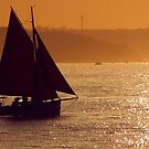 Red Sails In The Sunset by LumixFZ28