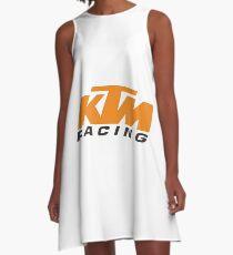 KTM Racing Logo A-Line Dress