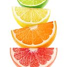 Citrus slices pyramid by 6hands