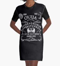 Demon Ouija Graphic T-Shirt Dress