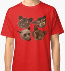 Four Species Of Flying Fox Bats. Classic T-Shirt