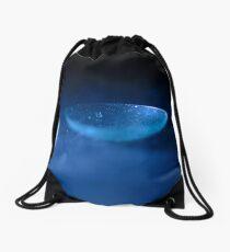 Blue B Drawstring Bag