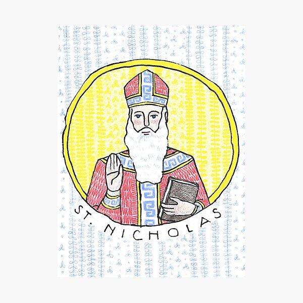 St. Nicholas of Myra Photographic Print