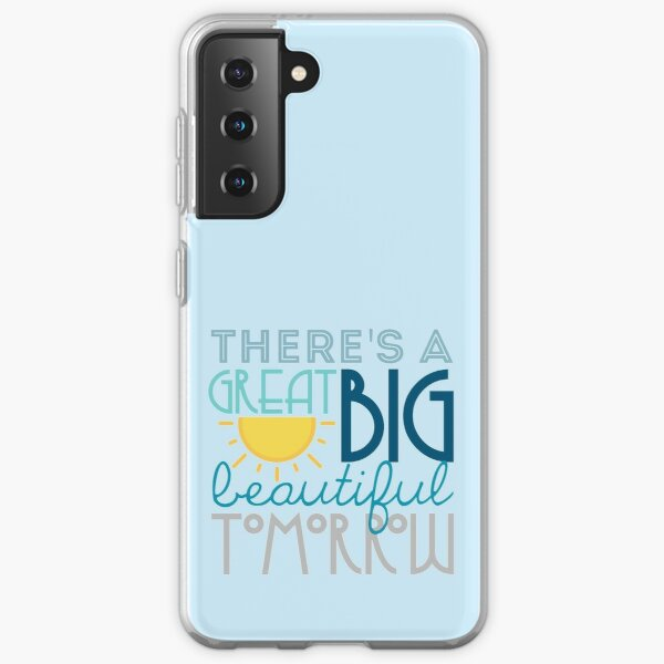 Shining At The End of Every Day Samsung Galaxy Soft Case