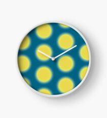 lime punch design Clock