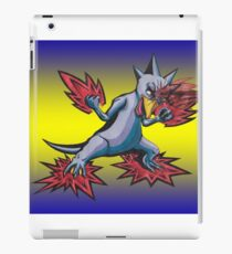 Psychic Attack Golduck  iPad Case/Skin