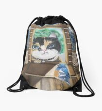 Uninvited Guest Drawstring Bag