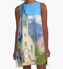 God and Country A-Line Dress