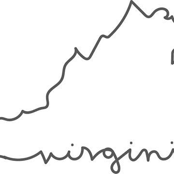 Virginia Line by FancyDancyNancy