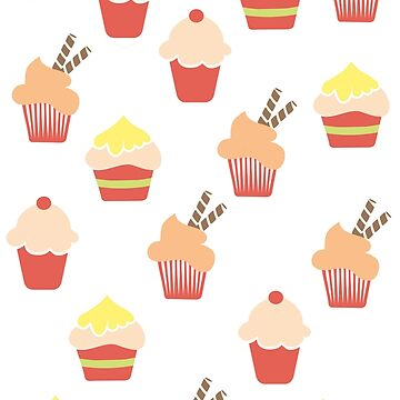 Cupcakes by fun-tee-shirts