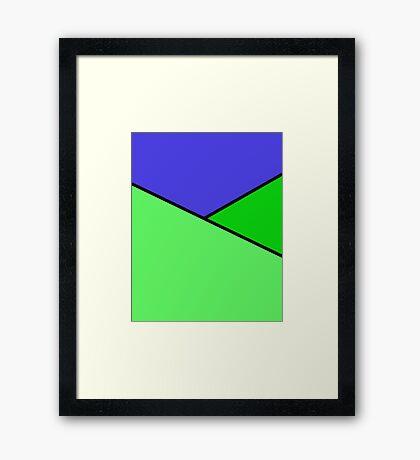 Landscape no.1 Framed Print