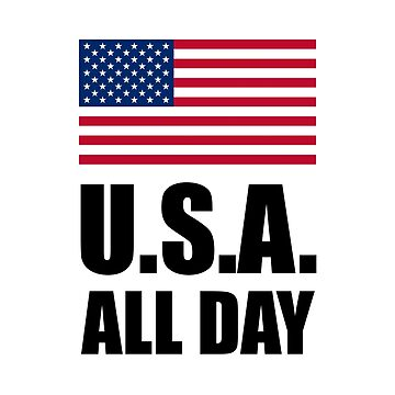 USA All Day Patriotic United States Flag by TheBestStore
