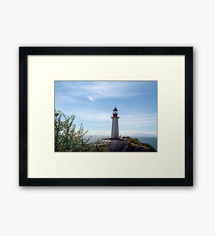 Lighthouse Park Lighthouse Framed Print