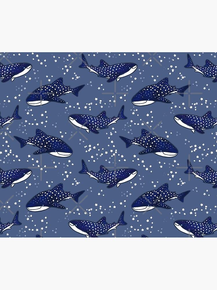Tiburones ballena estrellados (versión oscura) de soyrwoo
