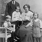 My Great Grand Parents and their Children by Minne