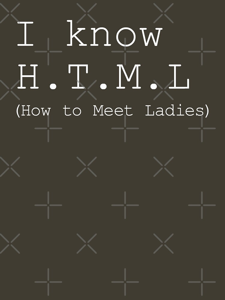 I know H.T.M.L by expandable