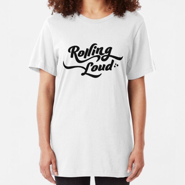 Rolling Loud Festival T-Shirt Slim Fit T-Shirt