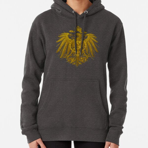 German Heritage, 1888 Feathered Reich Eagle Pullover Hoodie