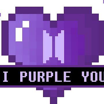 I Purple You (Pixel Heart Dark) - BTS de amiar15