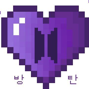 Pixel Heart - BTS de amiar15