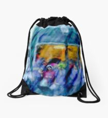 In A Crowd Drawstring Bag