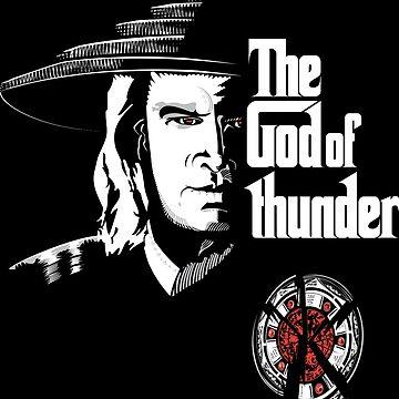The God of Thunder by petitnicolas