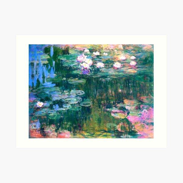 Water Lilies monet  Art Print
