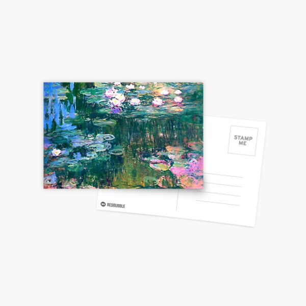 Water Lilies monet  Postcard