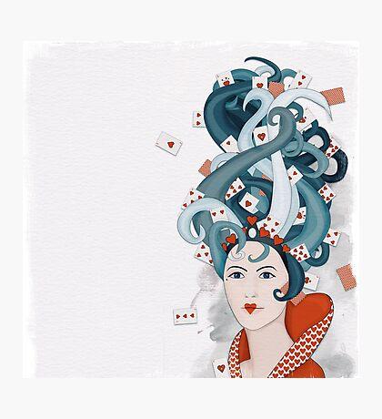 Rococo: Queen of Hearts Photographic Print