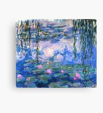 Lienzo Lirios de agua Monet