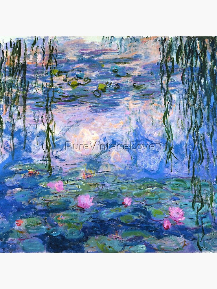 Water Lilies Monet by PureVintageLove