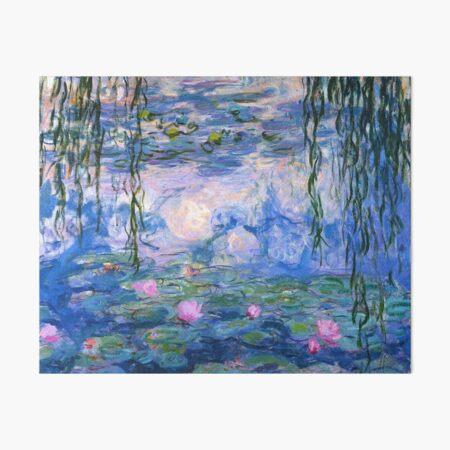 Water Lilies Monet Art Board Print