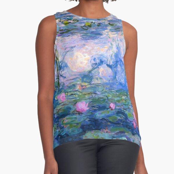 Water Lilies Monet Sleeveless Top