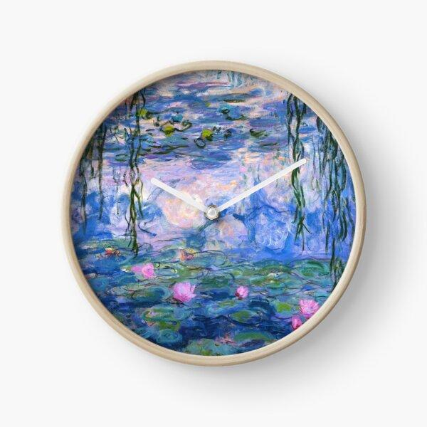 Water Lilies Monet Clock