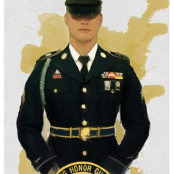 ARNG Honor Guard- Louisiana Edition by FatCrayon