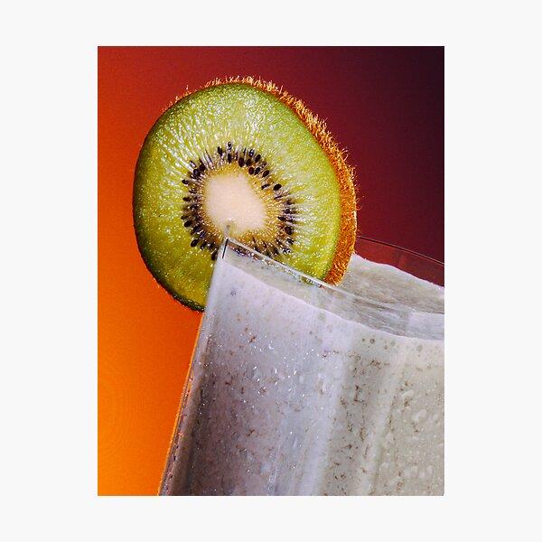 fruit smoothie Photographic Print