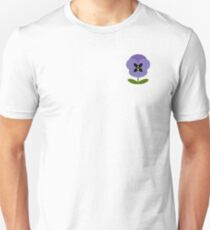 Lilac Pansy Tee - Celebrating The Pansy Project  Unisex T-Shirt