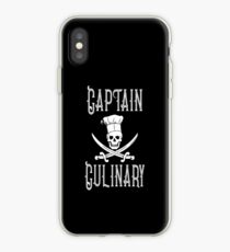 Captain Culinary Pirate Chef iPhone Case