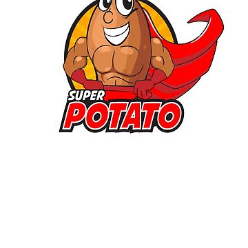 Funny Super Potato t-shirt by compact32