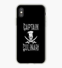 Captain Culinary Food Cook iPhone Case