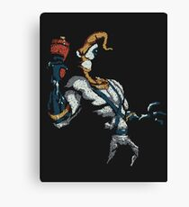 Squiggly Jim Canvas Print