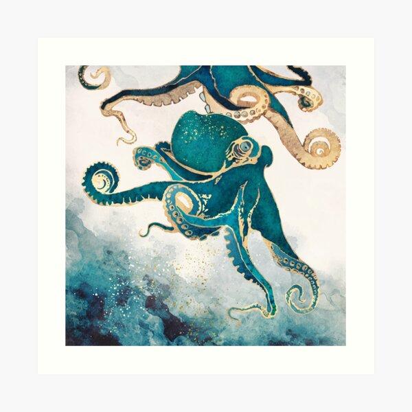 Underwater Dream V Art Print