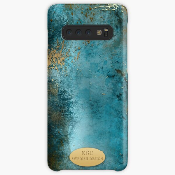 Mobile Skin Turcoisegold Samsung Galaxy Snap Case